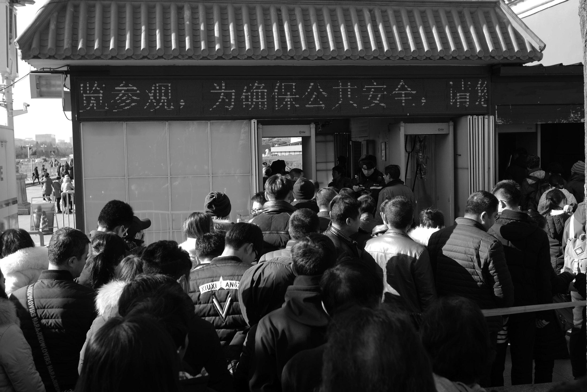 """""""Fila chinesa"""" pra entrar no Museu do Palácio"""