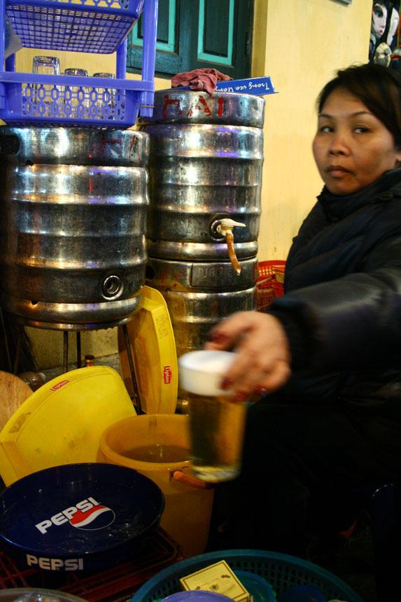 A famosa bia hơi