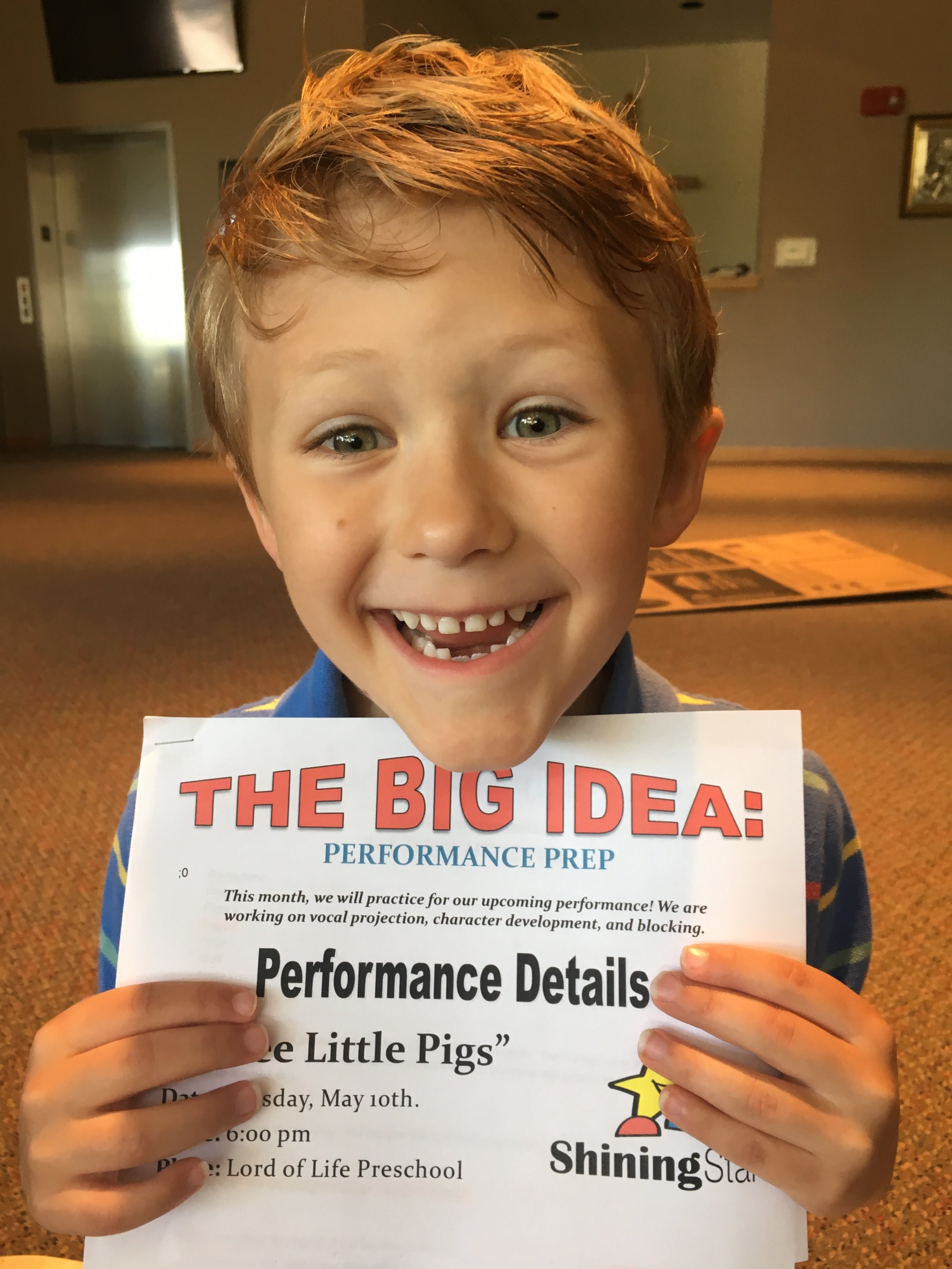 Giving Little Voices a Big Stage!