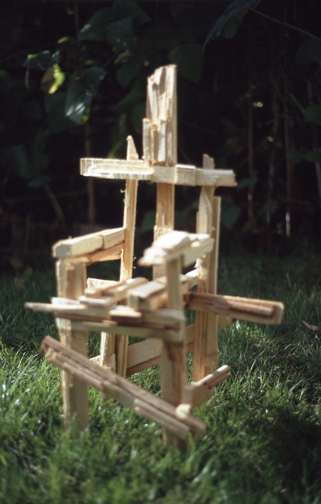 Chair Sculptures - Mixed Media