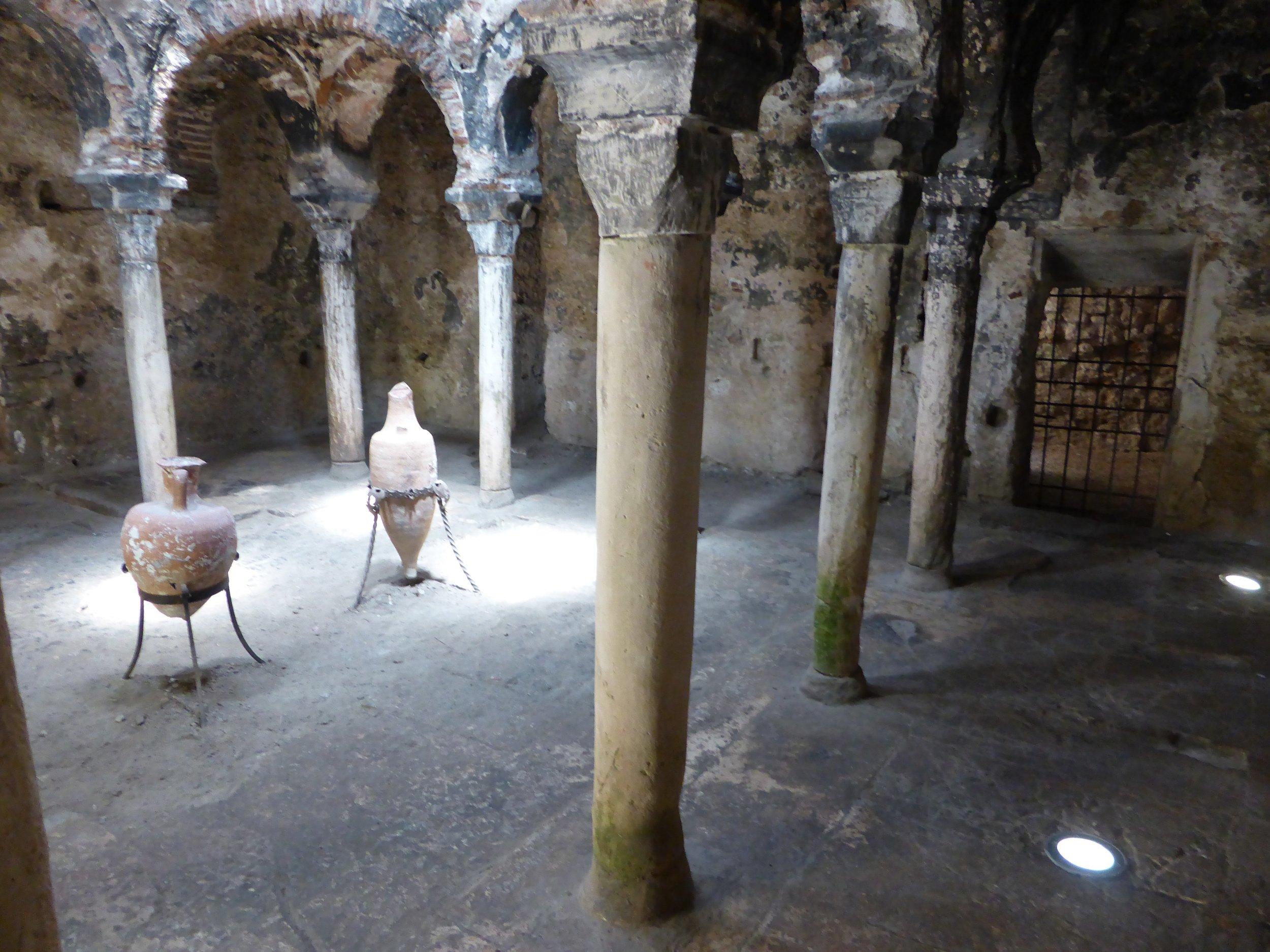 Palma city. Arabic baths 11th c. Very atmospheric.
