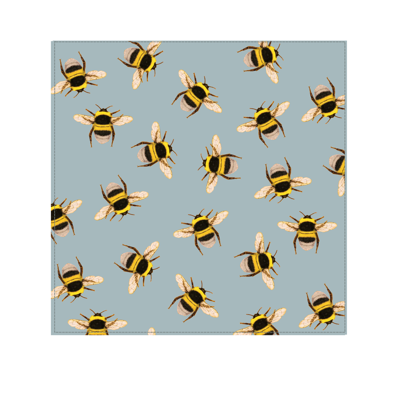 Bee Swarm Silver - Velvet