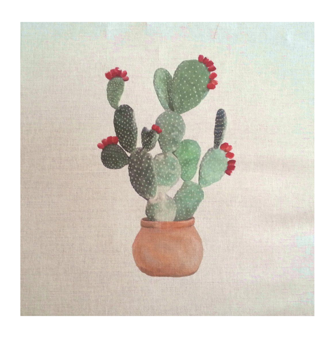 Cactus Nopal - Linen