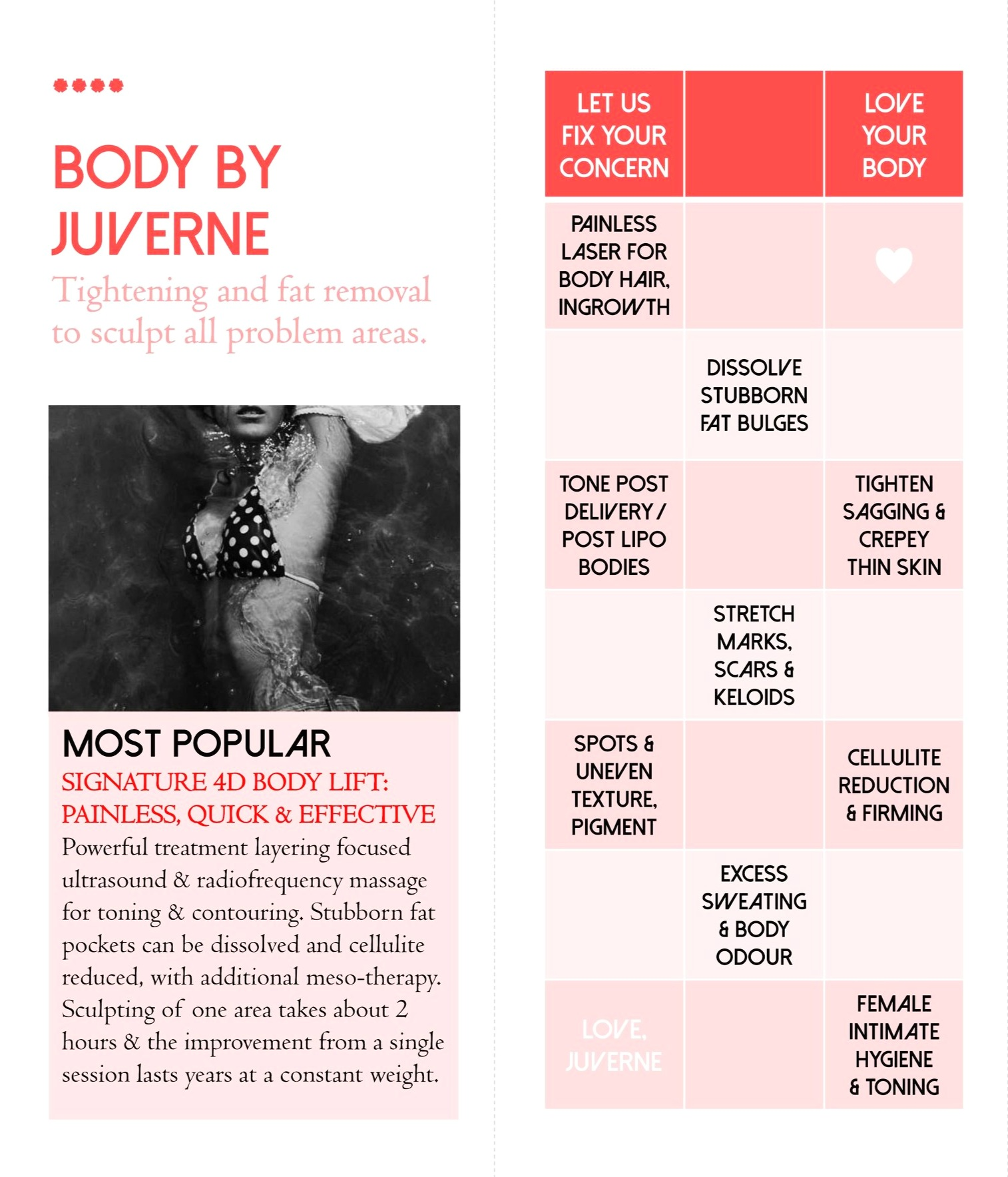 BODY SHAPING AT JUVERNE