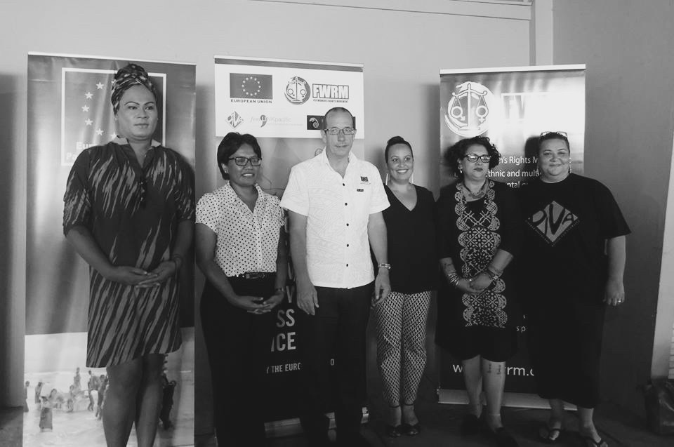 """The official launch of the project """" Balancing the Scales: Improving Fijian Women's Access to Justice"""" in May 2016 and was attended by members of the judiciary, civil society, and the development sector. Haus of Khameleon will receive support under this project to implement its Research on GBV."""