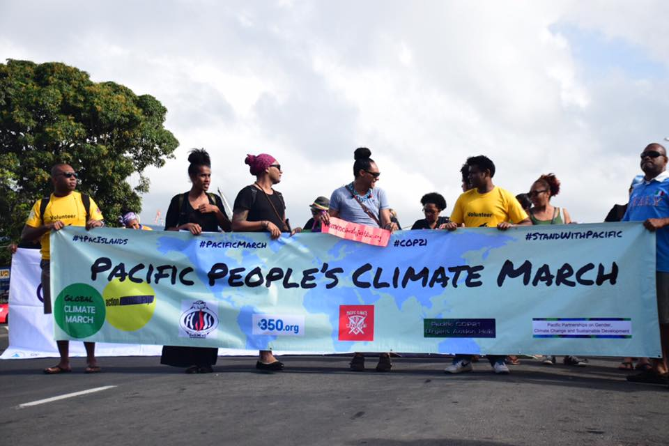 Pacific Climate March 2015