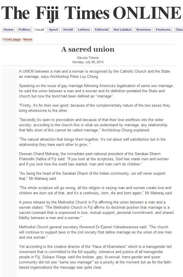 Fiji Times Online - Monday July 6, 2015