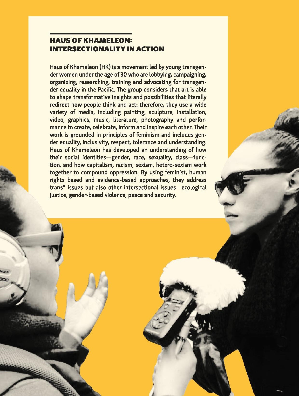 Haus of Khameleon: Intersectionality in Action  via FRIDA The Young Feminist Fund