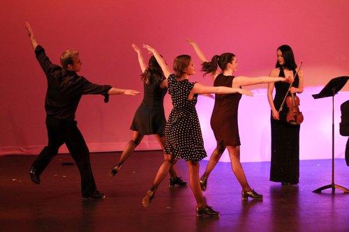 """Bach to Caravan"" Choreography for Tritone Rhythm Ensemble  Calgary, AB (2016)"