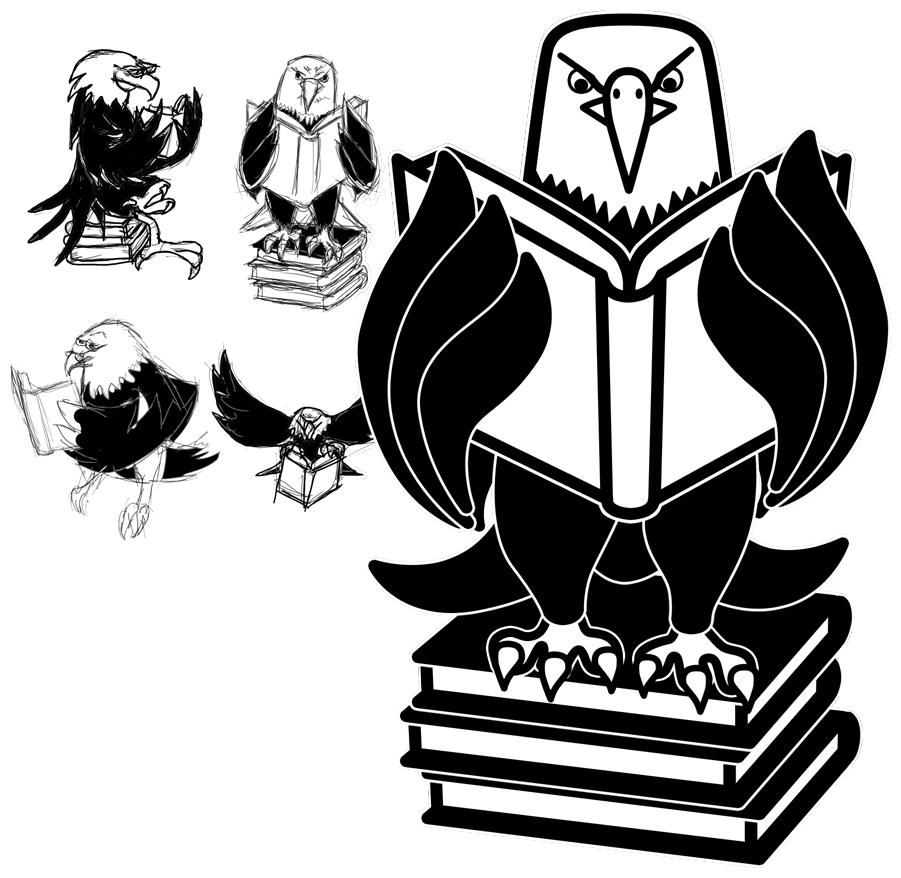 Le Conte Reading Eagle Logo