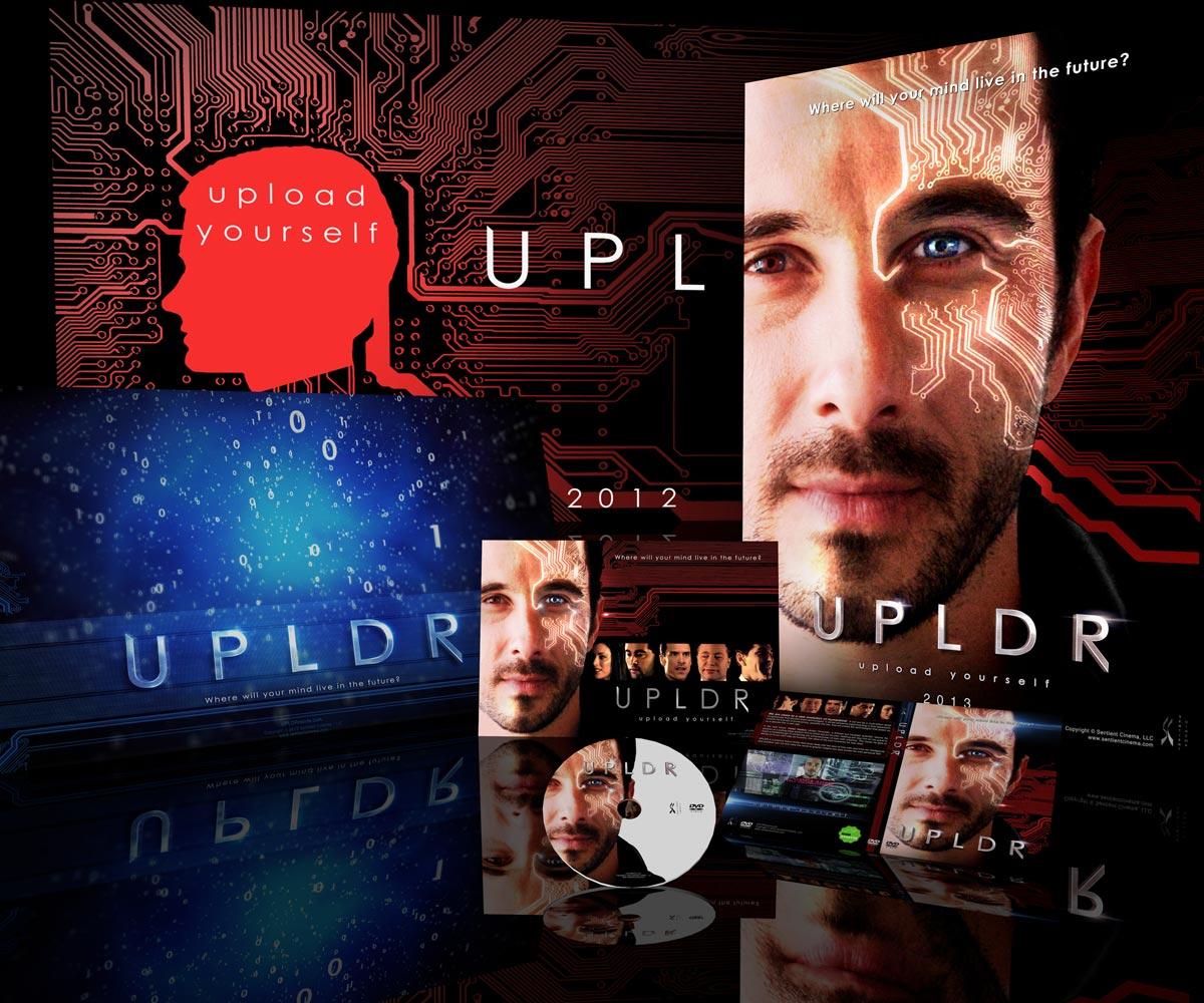 Promotional materials for the short film,  UPLDR  (2012).