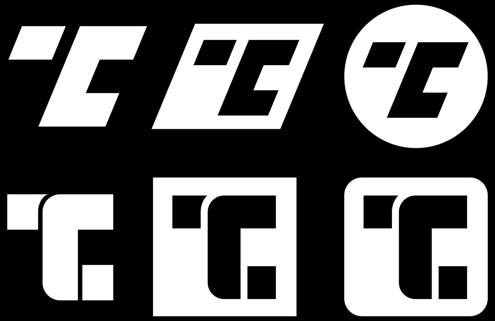 Personal logo design concepts.