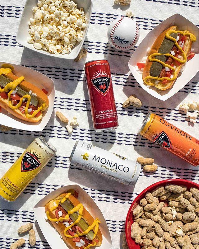 Happy National 🌭 Day! Relish the moment #drinkmonaco