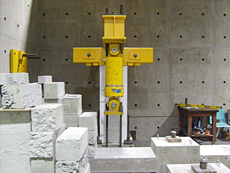 reinforced concrete column — mosaic metals