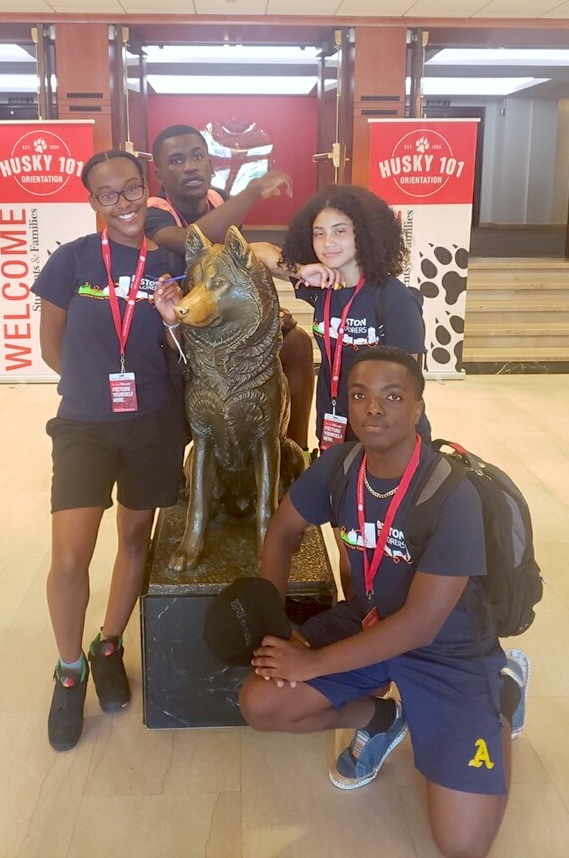 2019 Cohort at a Northeastern University  campus tour