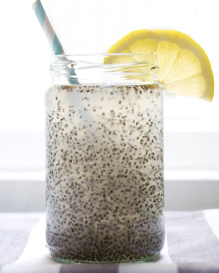 CHIA SEED COCONUT WATER