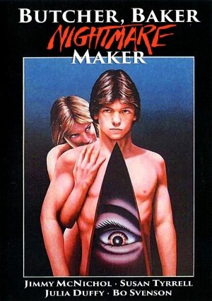 Hold onto your butts, 'cause there's lots of mom-son milk romance coming your way in this week's episode where we make love to the feature film,    Butcher Baker Nightmare Maker AKA Night Warning    (1983), and of course, round it all out by giving some equally uncomfortable advice.     Stay tuned and, most importantly, stay nasty.