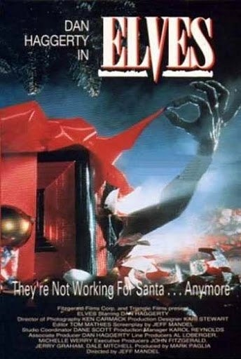 It's the Queens first Christmasode and also China's day of birth!    Today's feature film,   Elves   (1989), is filled with Christmas, Nazis, and incest- just the way we like to celebrate the birth of our lord and savior (JK)    Oh, yeah, we also stay in the spirit of Christmas by giving....some stupid advice to all the people of the world!    Stay tuned, and most importantly, stay nasty!