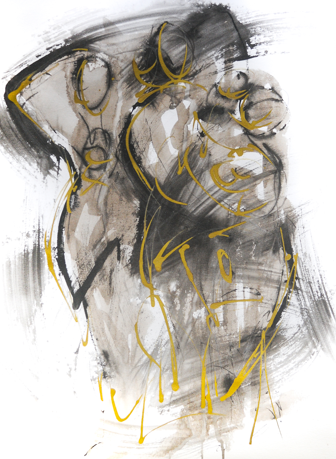"""Figures in Black & Gold IV 