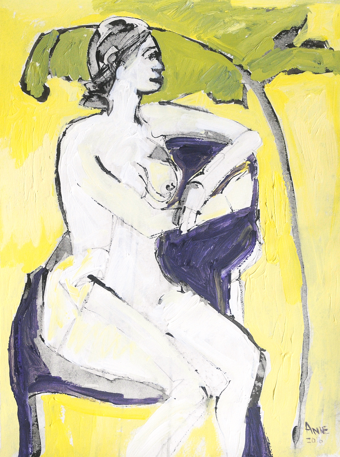 """Seated Figure VI 