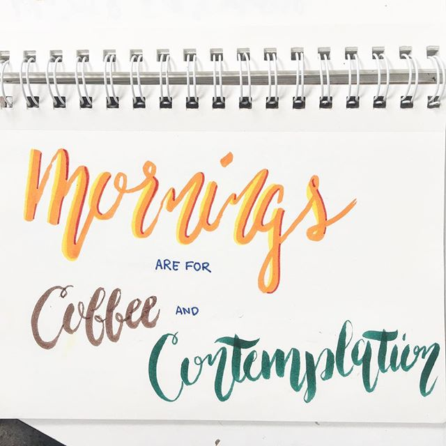AM . . . #saroochi #youandidesign #youandi #ampersand #thealamedaartworks #sanjose #artlife #wearesanjose #artstop #thealameda #localart #bayarea #makeart #makeartnotwar #creative #creatives #art #artists #design #designers #calligraphy #calligritype #calligraphyart #lettering #mornings #morningsareforcoffeeandcontemplation #strangerthings