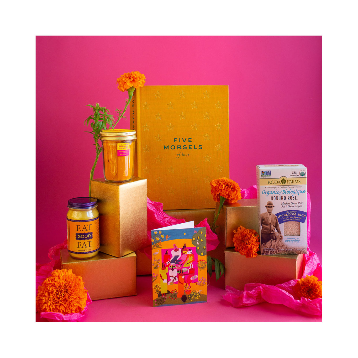 THE HEIRLOOM COOKING GIFT BOX BY DIASPORA CO.