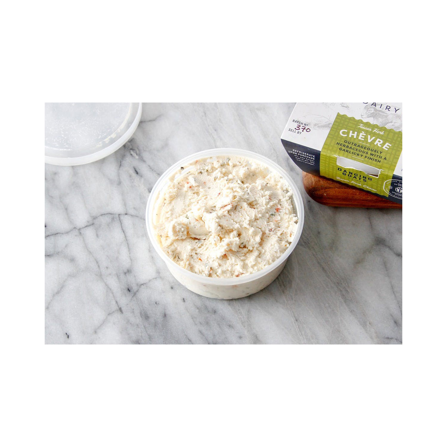 WHIPPED CHEVRE BY DANCING GOATS DAIRY