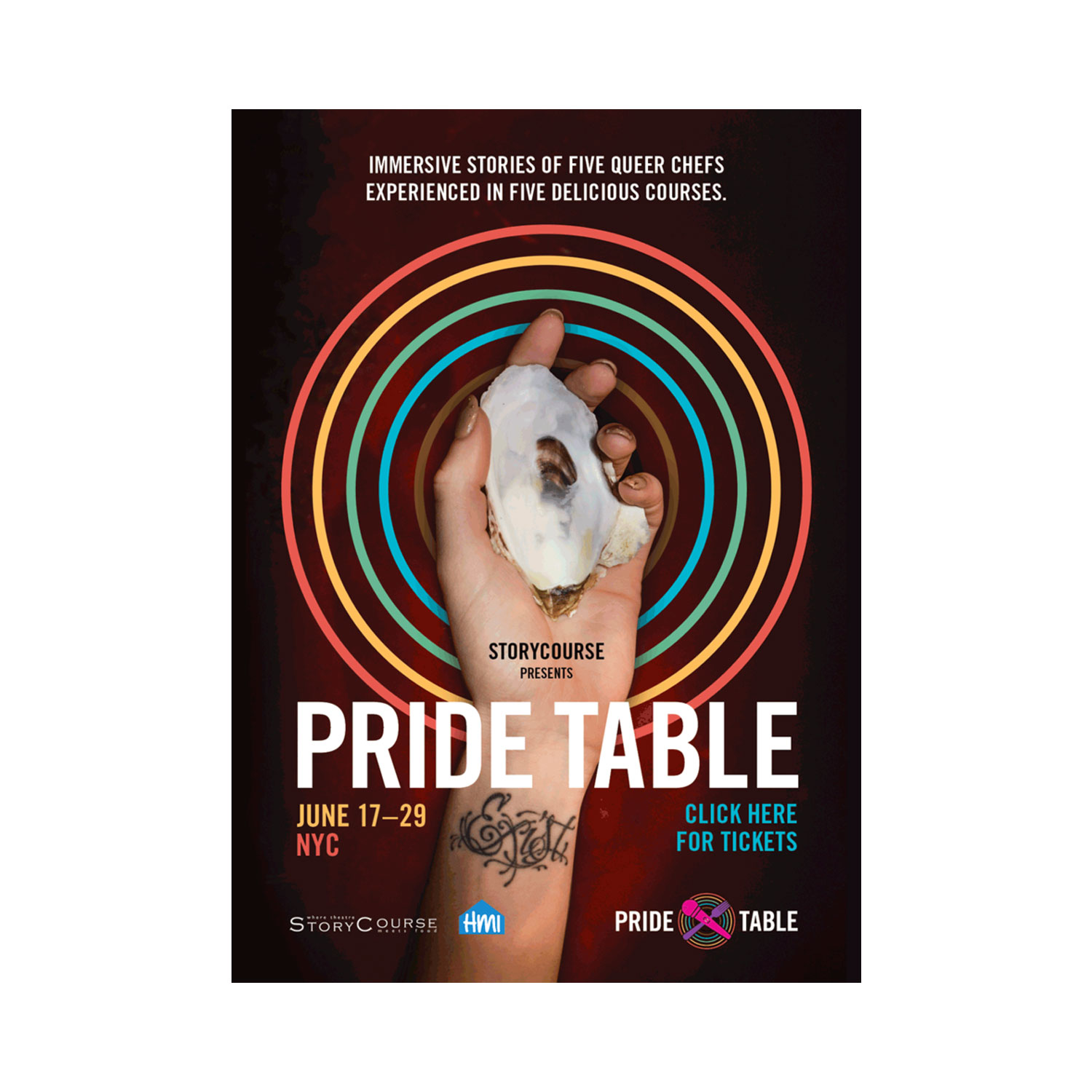 PRIDE TABLE BY STORY COURSE, JUNE 17–30