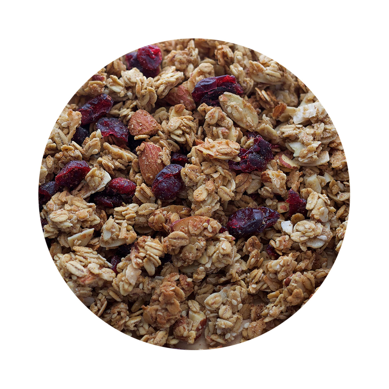 TOASTED ALMOND, COCONUT, AND CRANBERRY GRANOLA BY UPSTATE GRANOLA