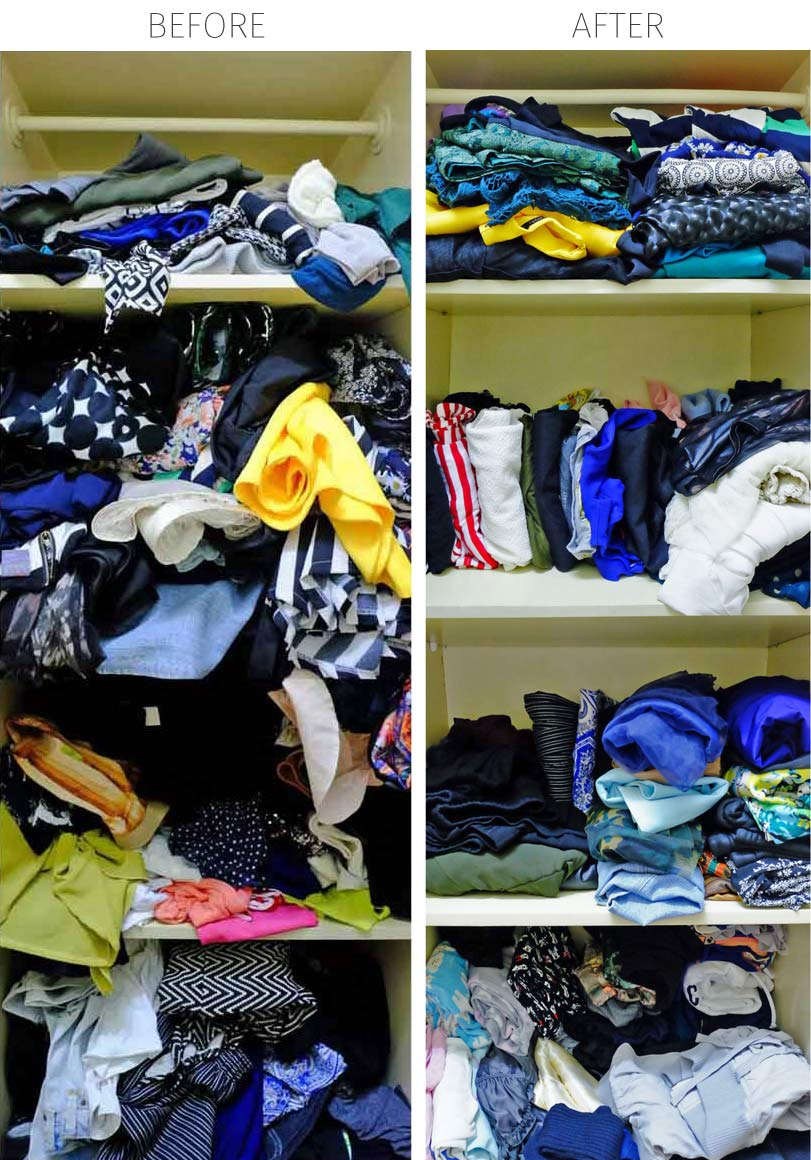 This No-Mess Monday, I show you 7 steps to conquer your clothes by making myself the guinea pig of a closet-cleaning experiment! Plus a FREE worksheet so you can find out what's in your ideal closet!