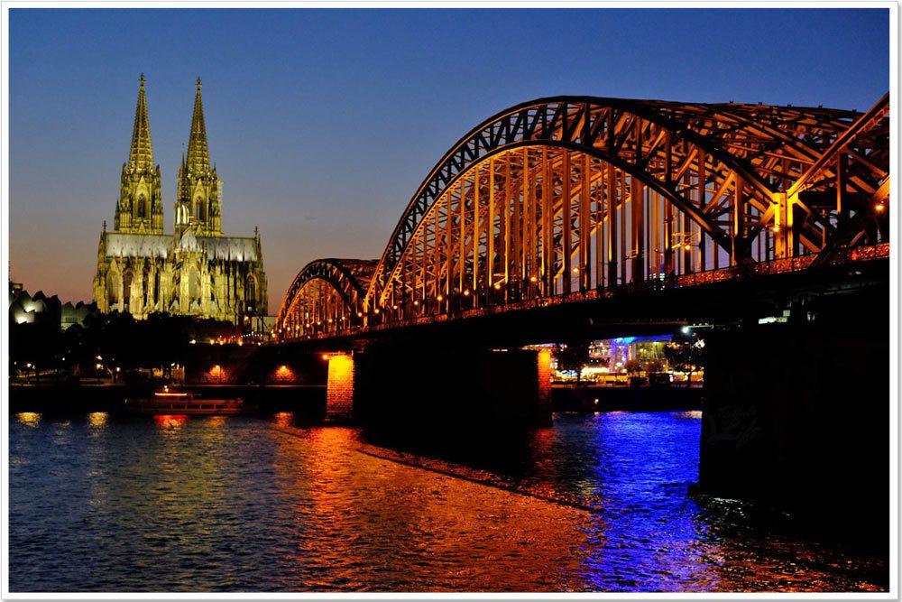 I took dusk shots in Germany.