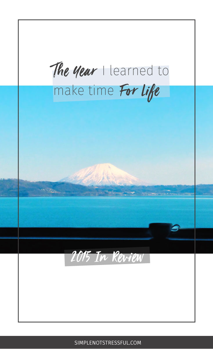 Are you making time for life, friend? Check out this post for what I've learned that you can use this year along with a weekly planner!