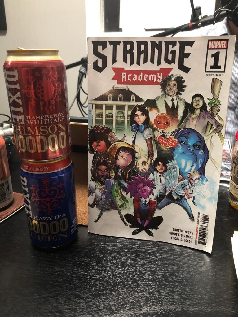 "Drinking Issues 34: ""Strange Academy"" #1"