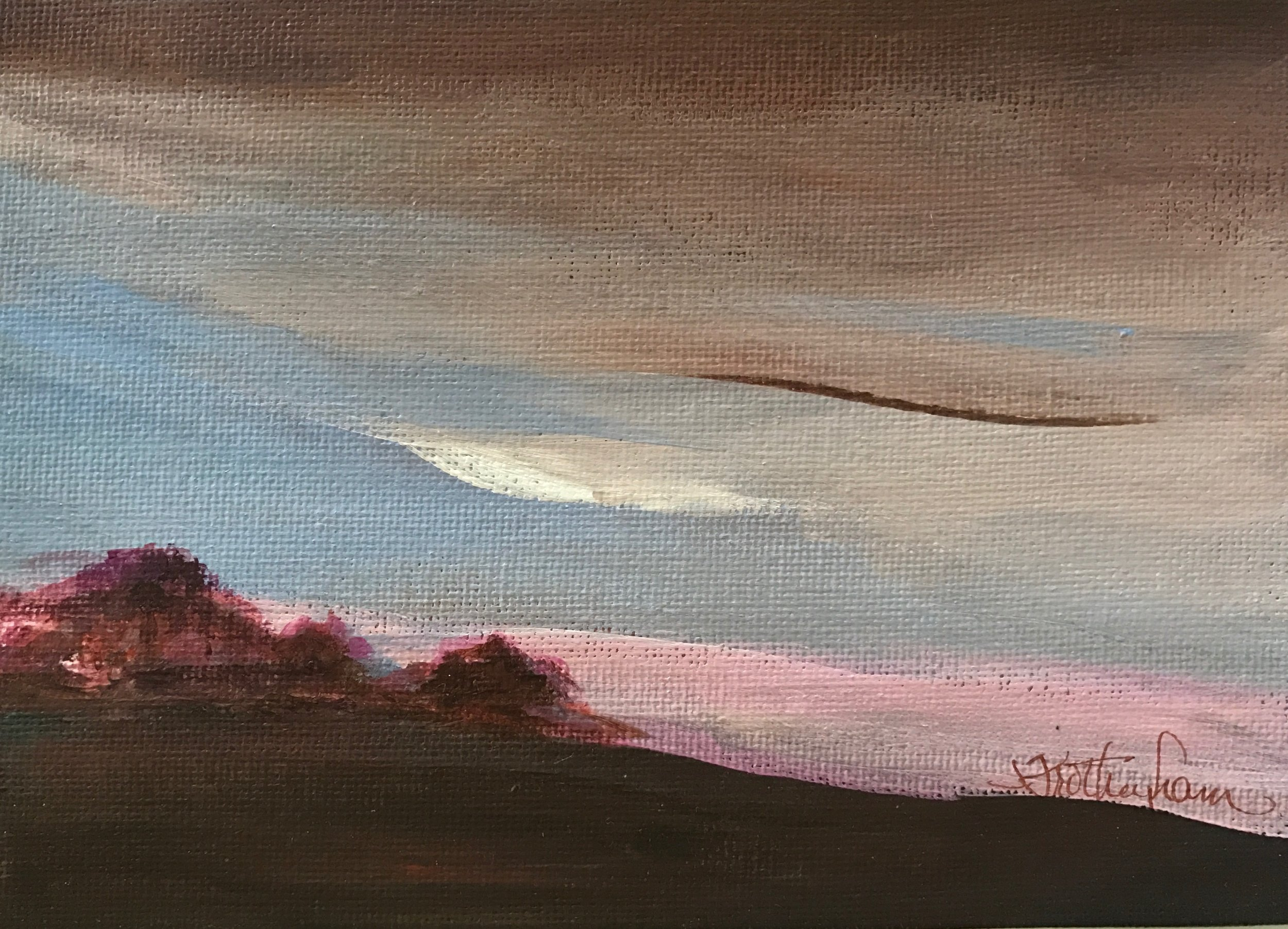 """Evening Shadows On the Prairie"""