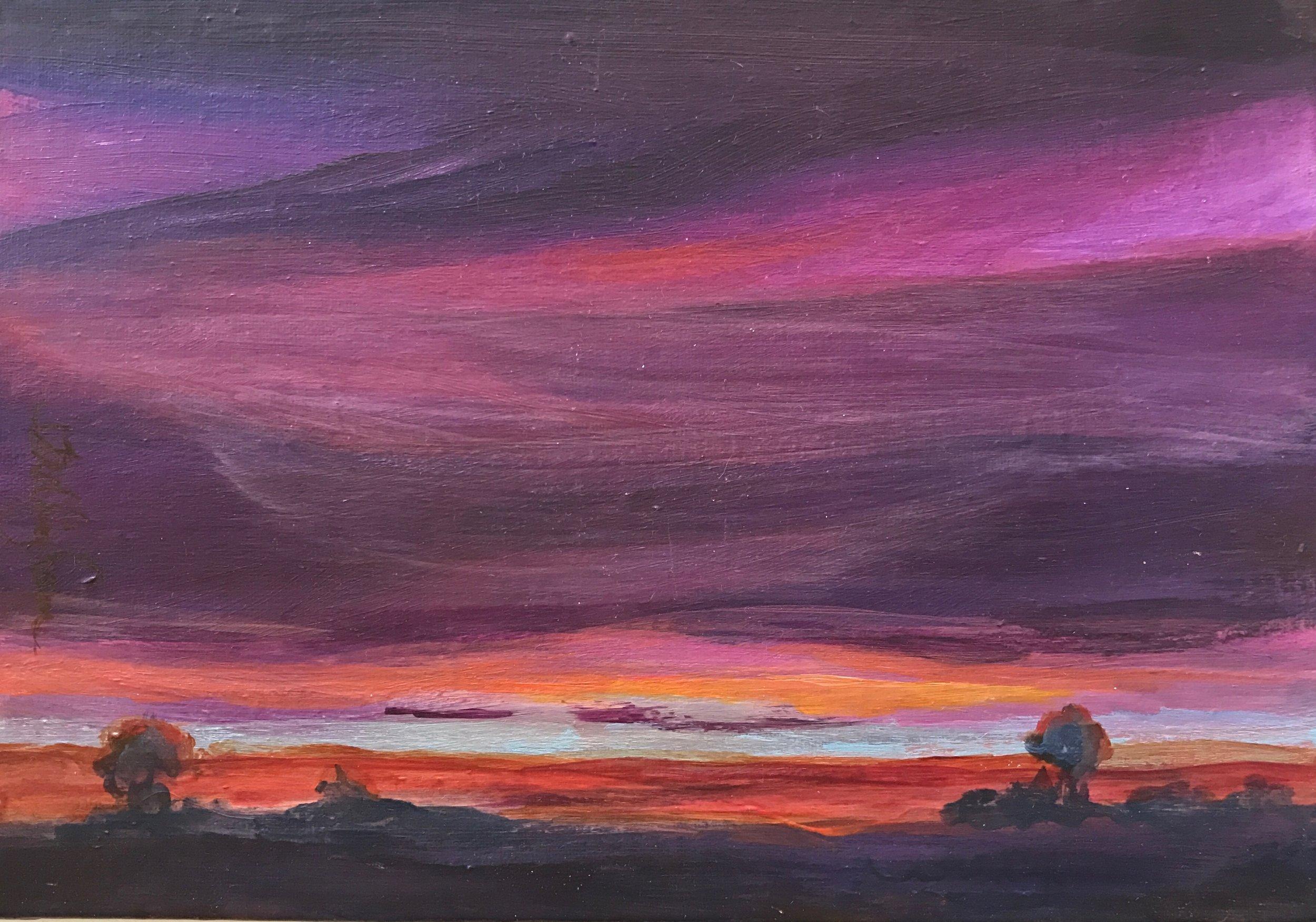 """""""Prairie Fire Skies"""""""