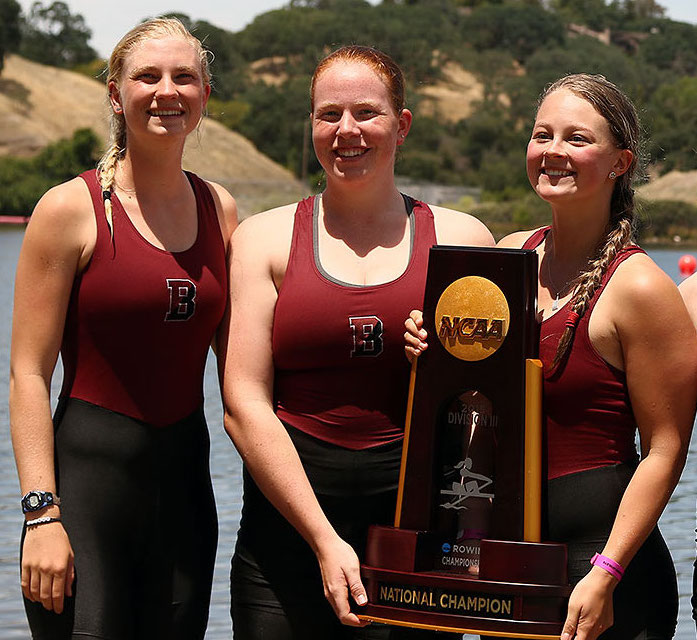 Where are our athletes going after Nashville Juniors? According to the NCAA: 55% of High School girls and 17% of High School boys that row earn scholarships to row in college, the highest of all sports for both genders.