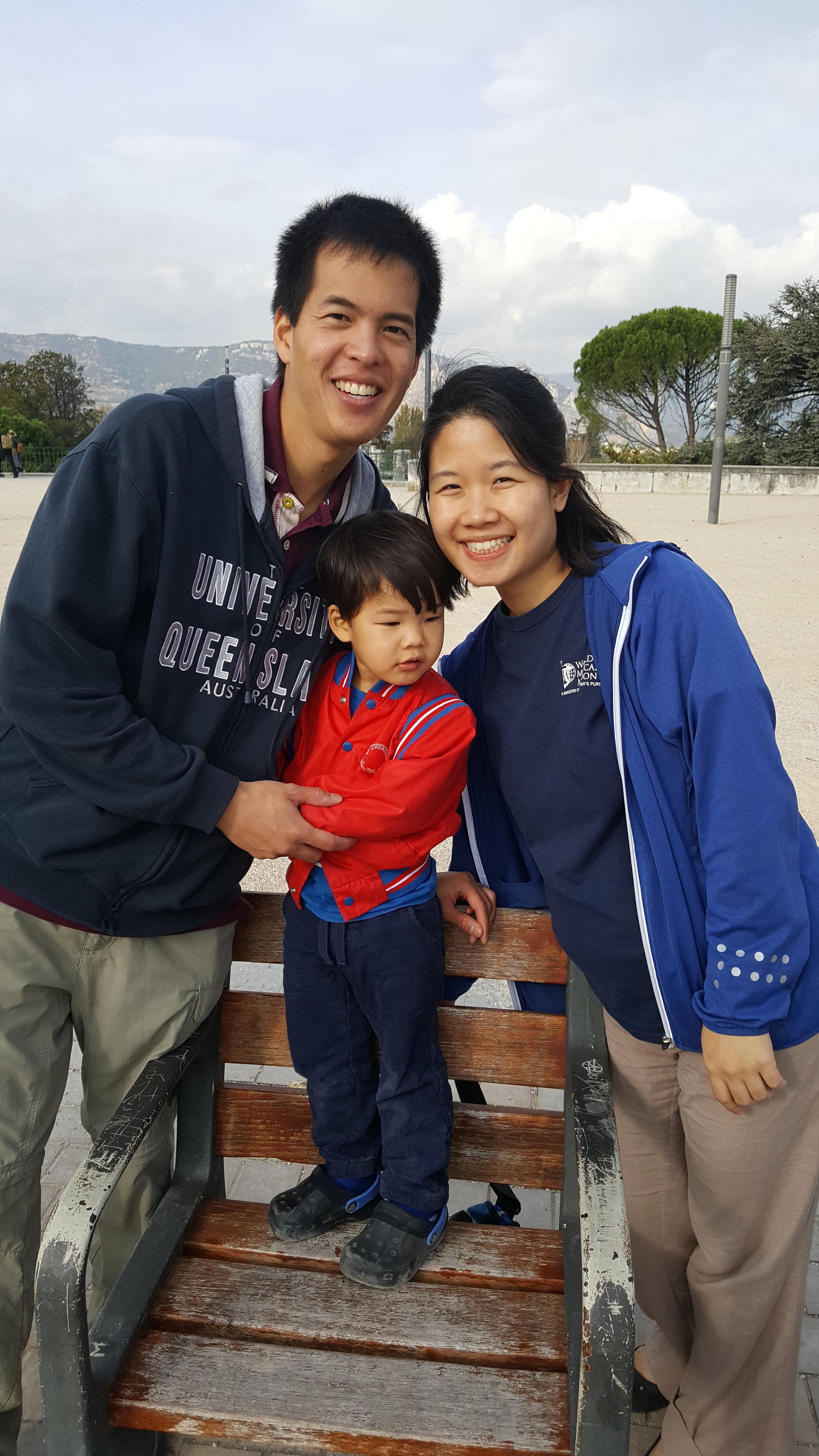 Drew, Kim and Nathan