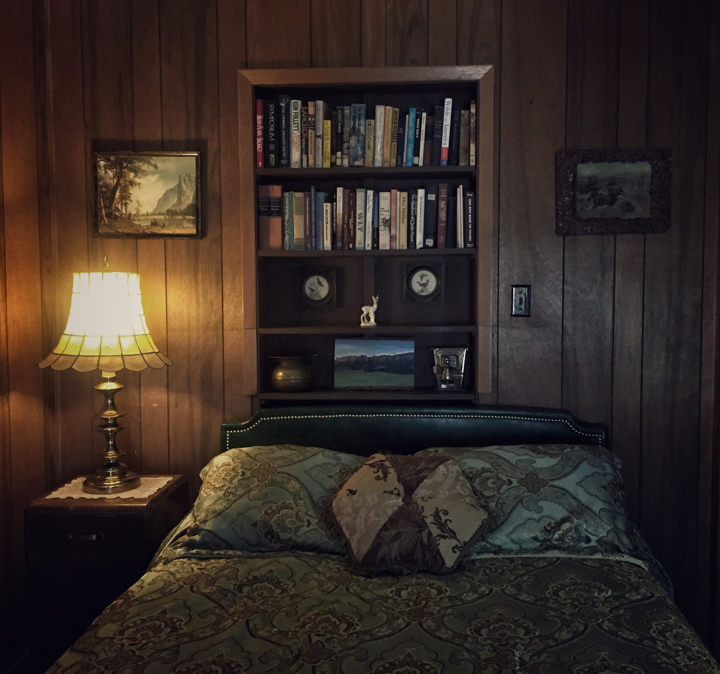My room last night - The Mari Sandoz Suite at the Olde Main Street Inn in Chadron, NE.