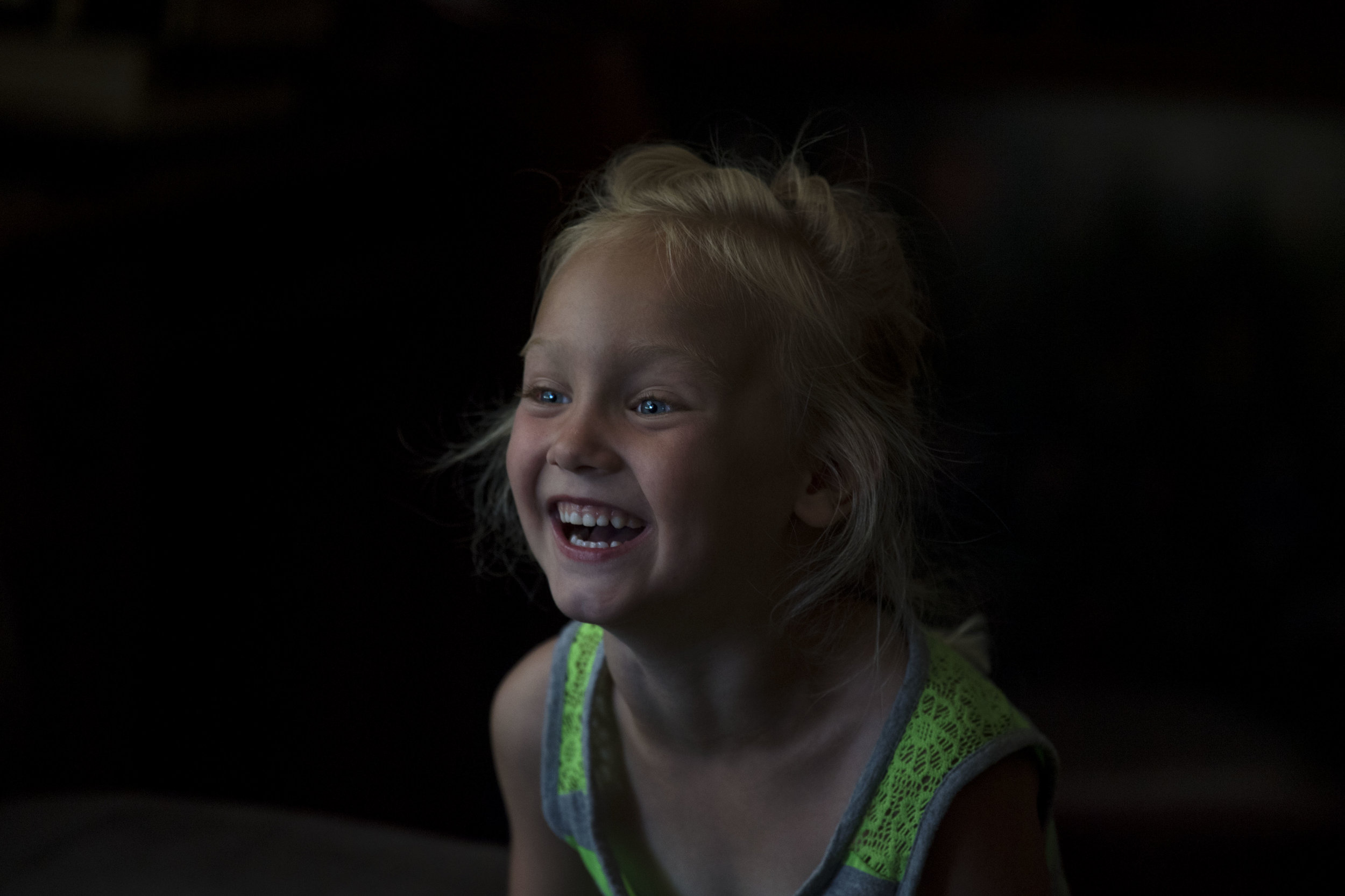 The always smiling Emorie, taken on a Nikon D5 with a 300mm f/4.