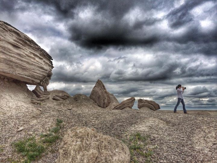Me in Toadstool Geological Park in 2014.