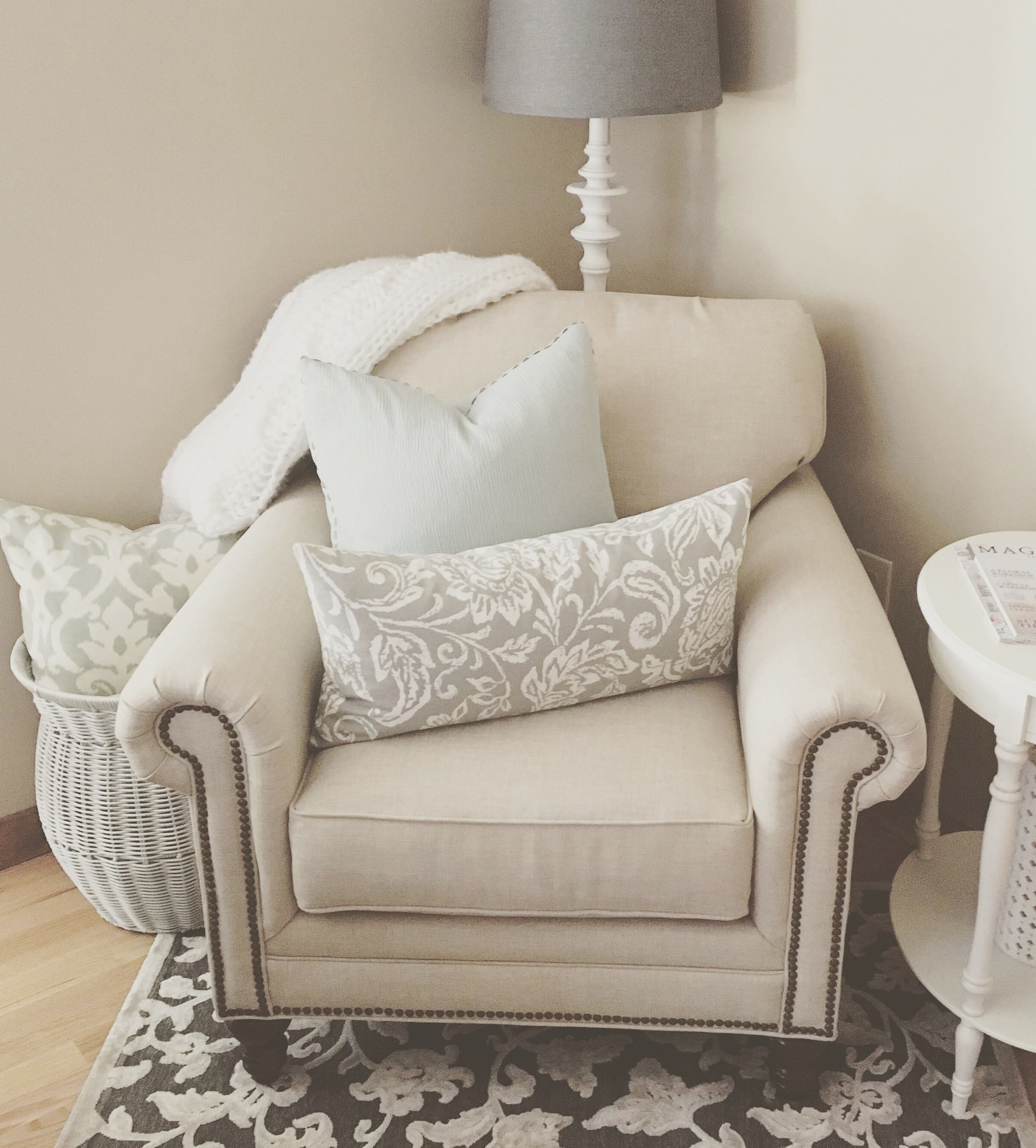 Home Staging: Living Room
