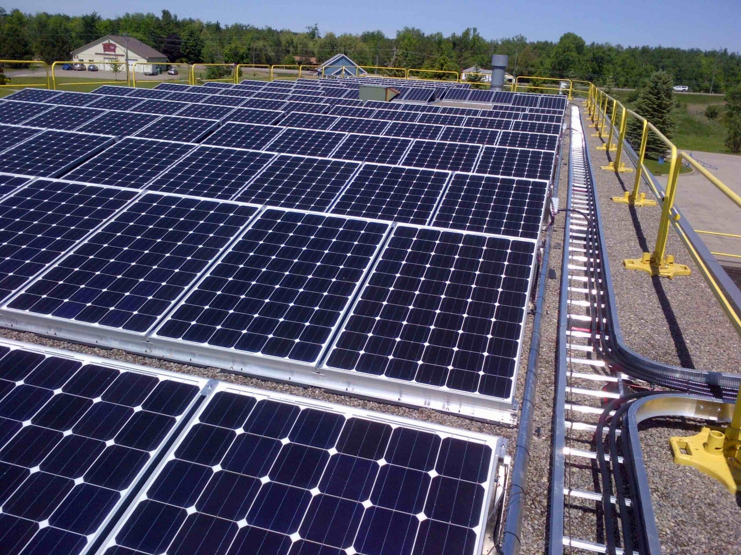 One of LIFEs Solar Projects: LIFE Solar JV 52 is a 60 kW project located in Erin ON.