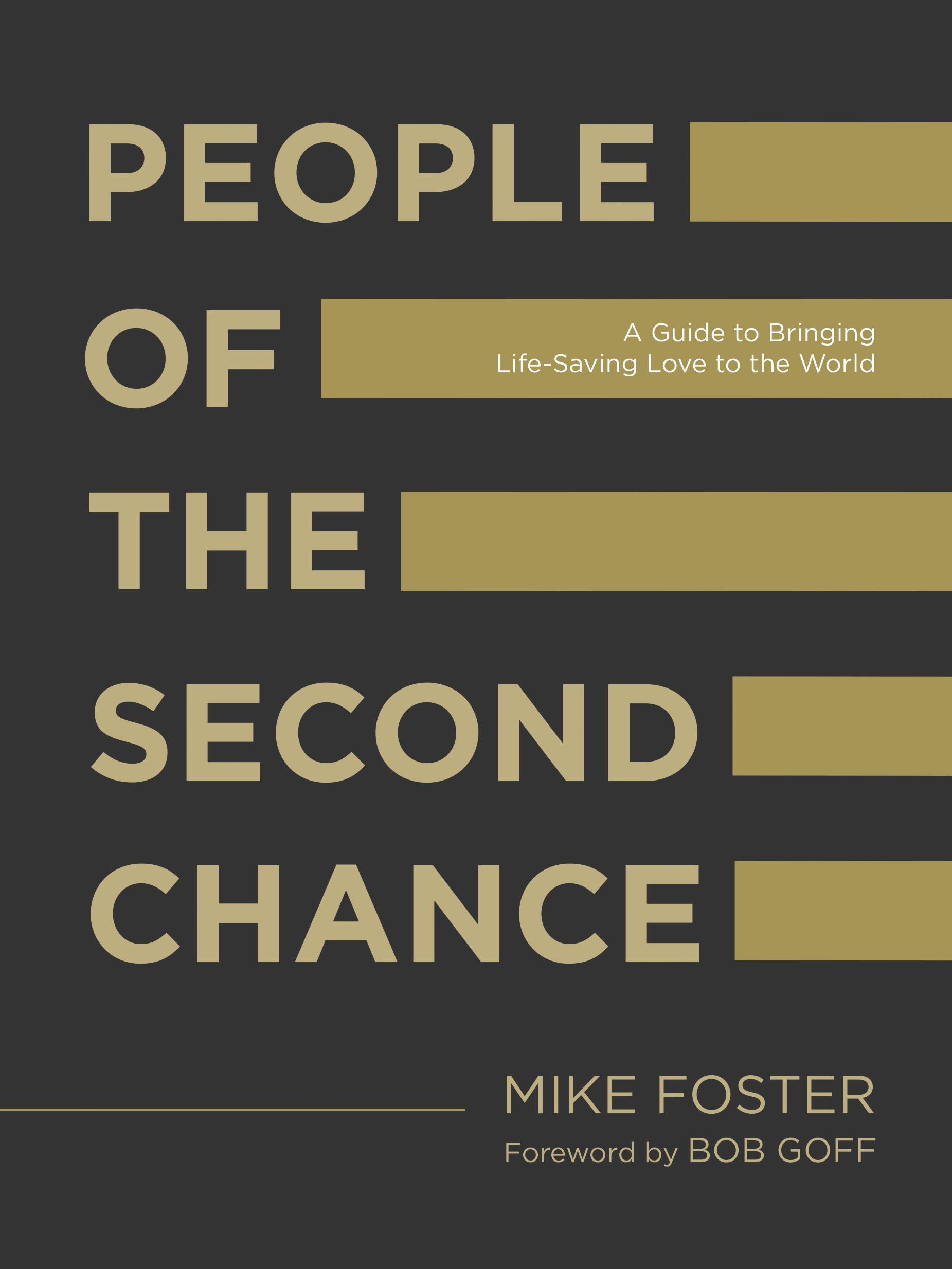 Read Mike's Book!  - A powerful message of hope for anyone burdened by regret and everyone who longs for a fresh start. This simple guide will show you how your imperfect life matters in ways you never thought possible. It will help you see your scars, flaws, and failures as unfair advantages and gifts that you can bring to the world.  Foster's examination of hope is one part challenge, two parts encouragement. He forces the reader to ask the following questions: How did I lose it? How do I get? How do I give it? Each question is broken down into core concepts that are essential to a life devoted to the power of second chances: awareness, discovery, ownership, forgiveness, acceptance and freedom.Packed full of unfiltered honesty and simple next steps, this manifesto for prodigals, imperfectionists, and hopesters will help you discover beauty in the brokenness.