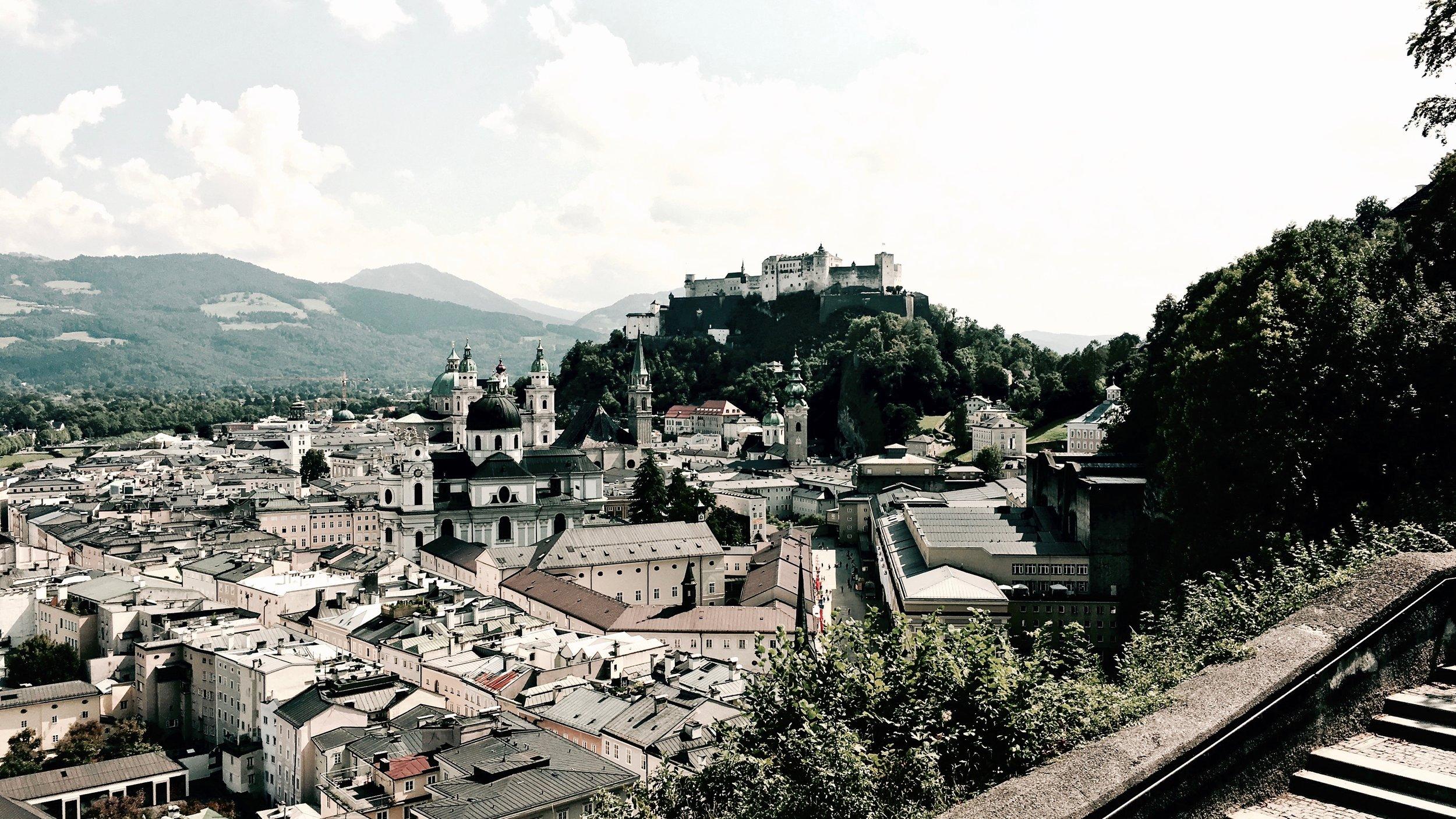 View from Museum Der Moderne,Salzburg