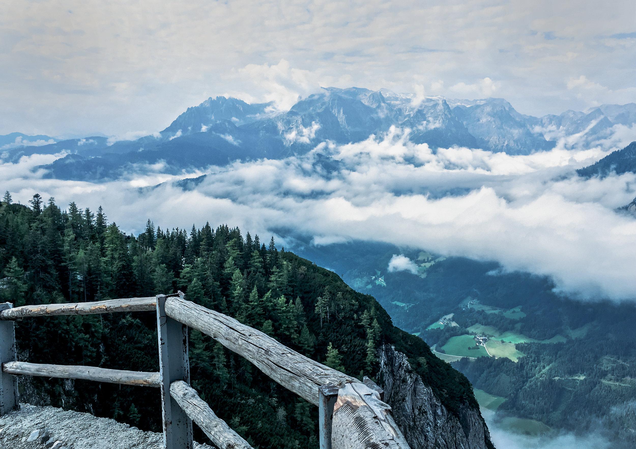 Panaroma View from Eisriesenwelt