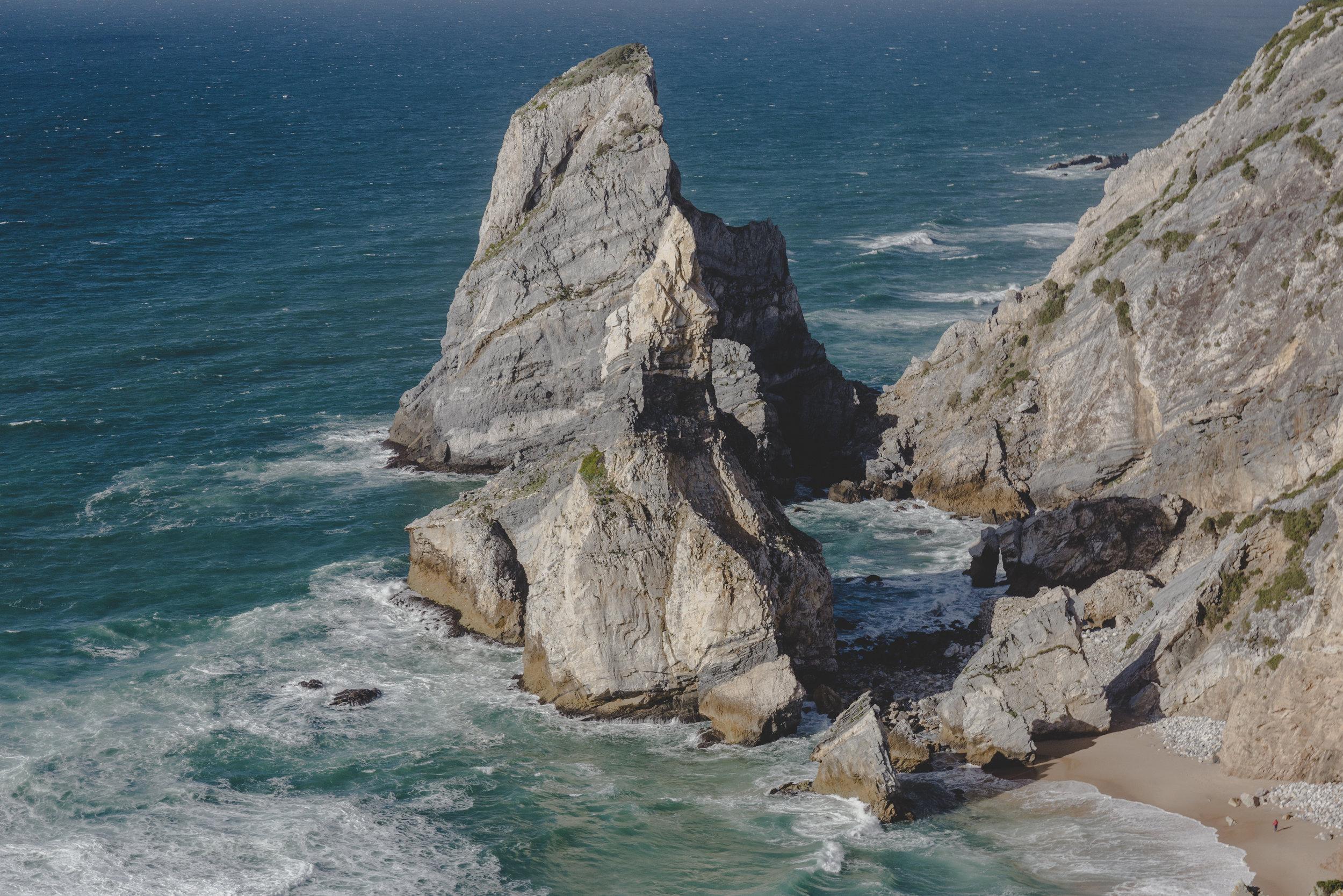 Cliffs at Praia da Ursa