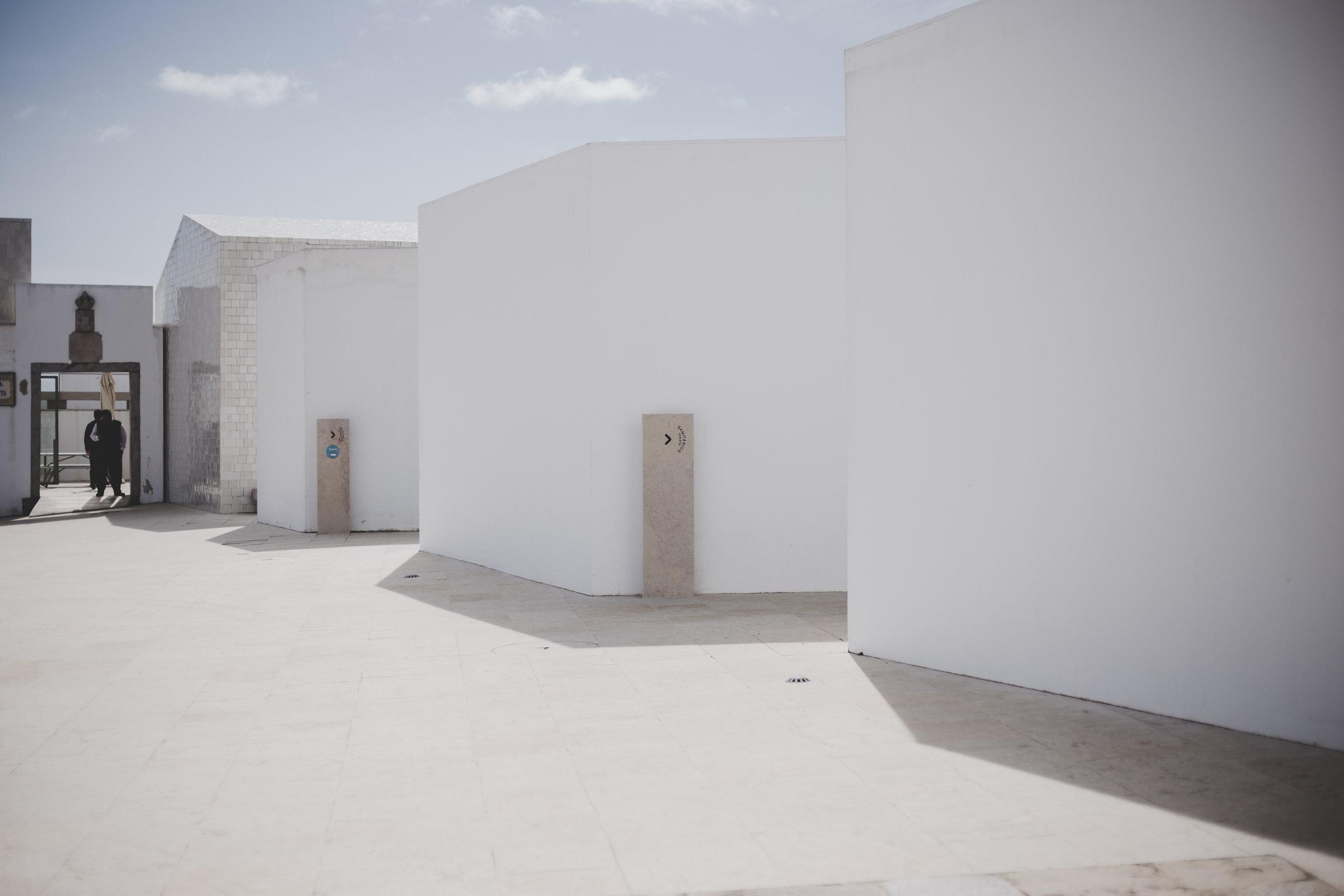 Entrance,Farol Museu de Santa Marta