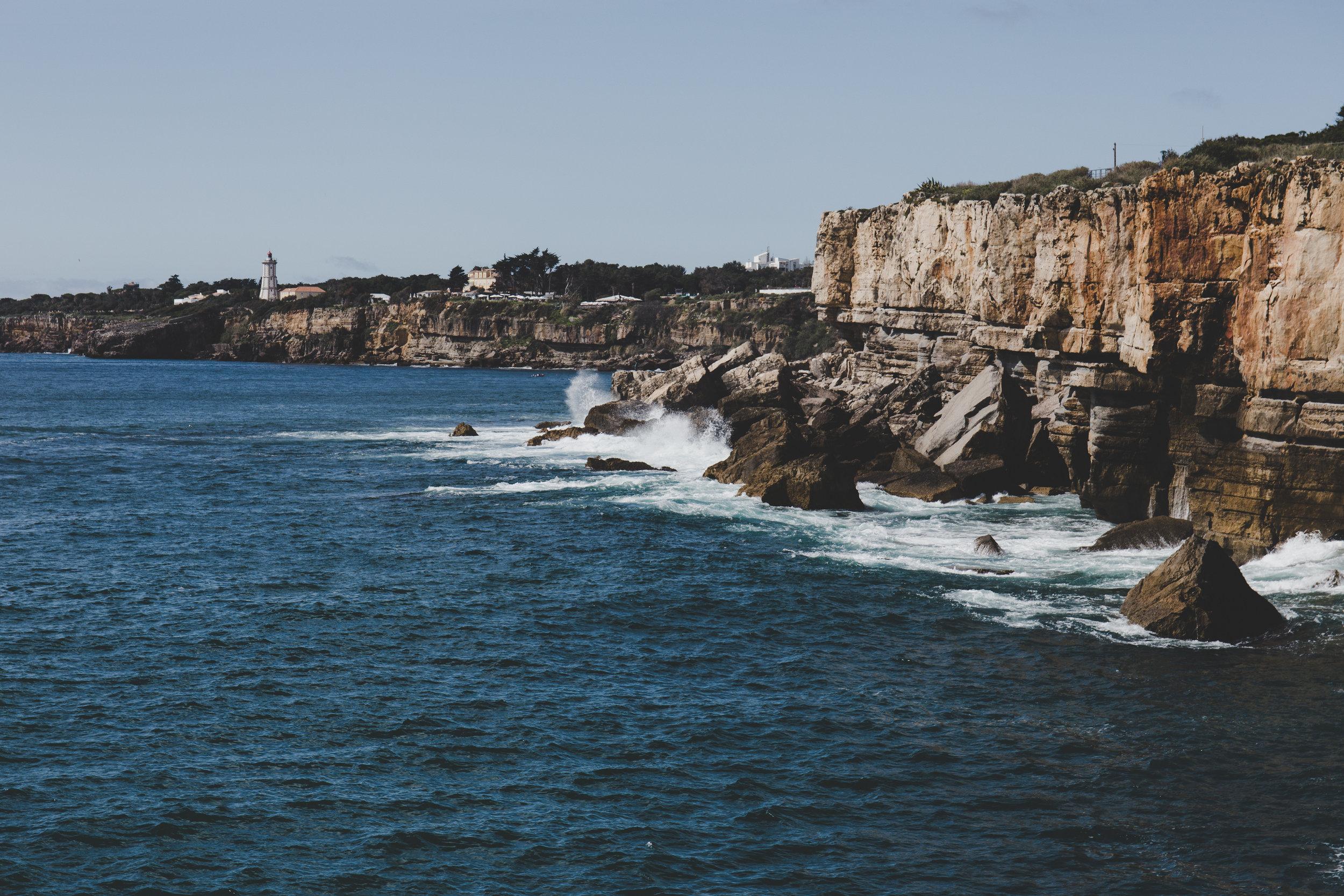 Cliffs near Boca da Inferno
