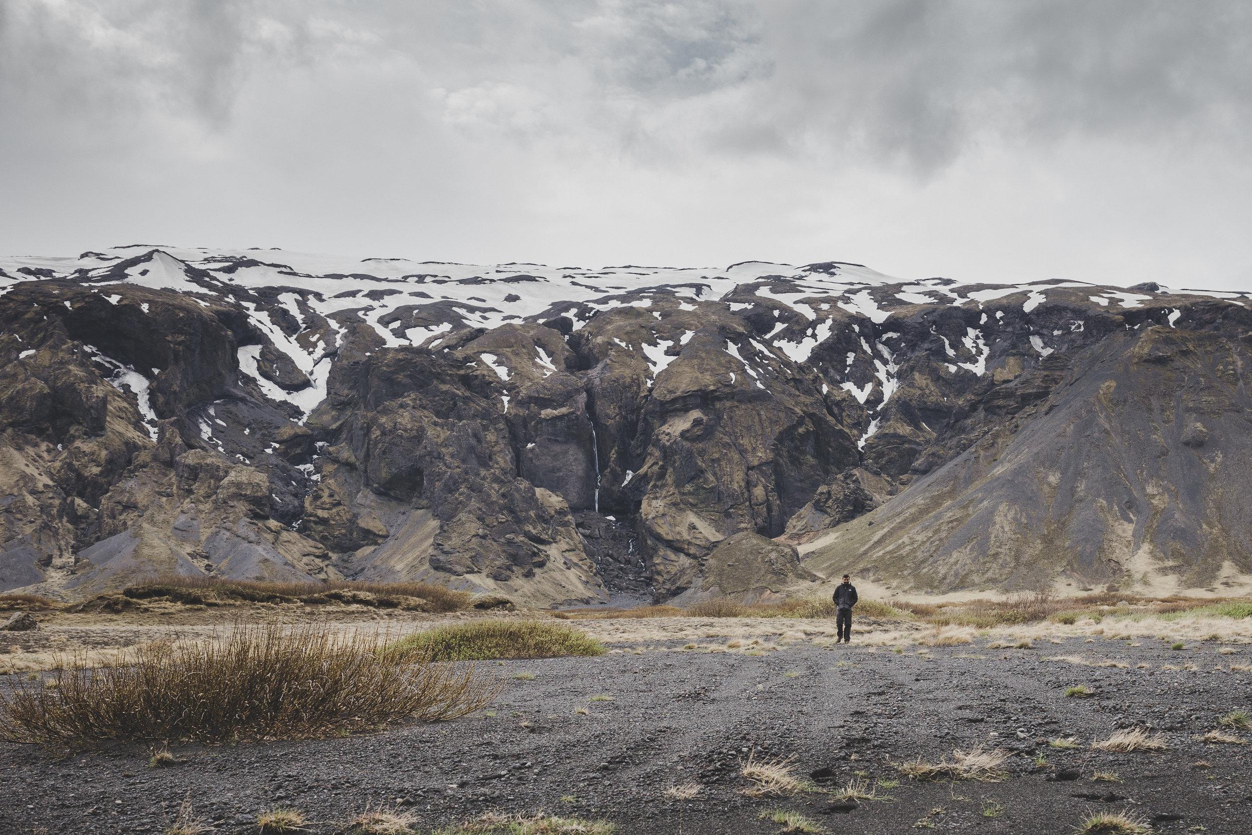 Sharad and the great views of Thórsmörk