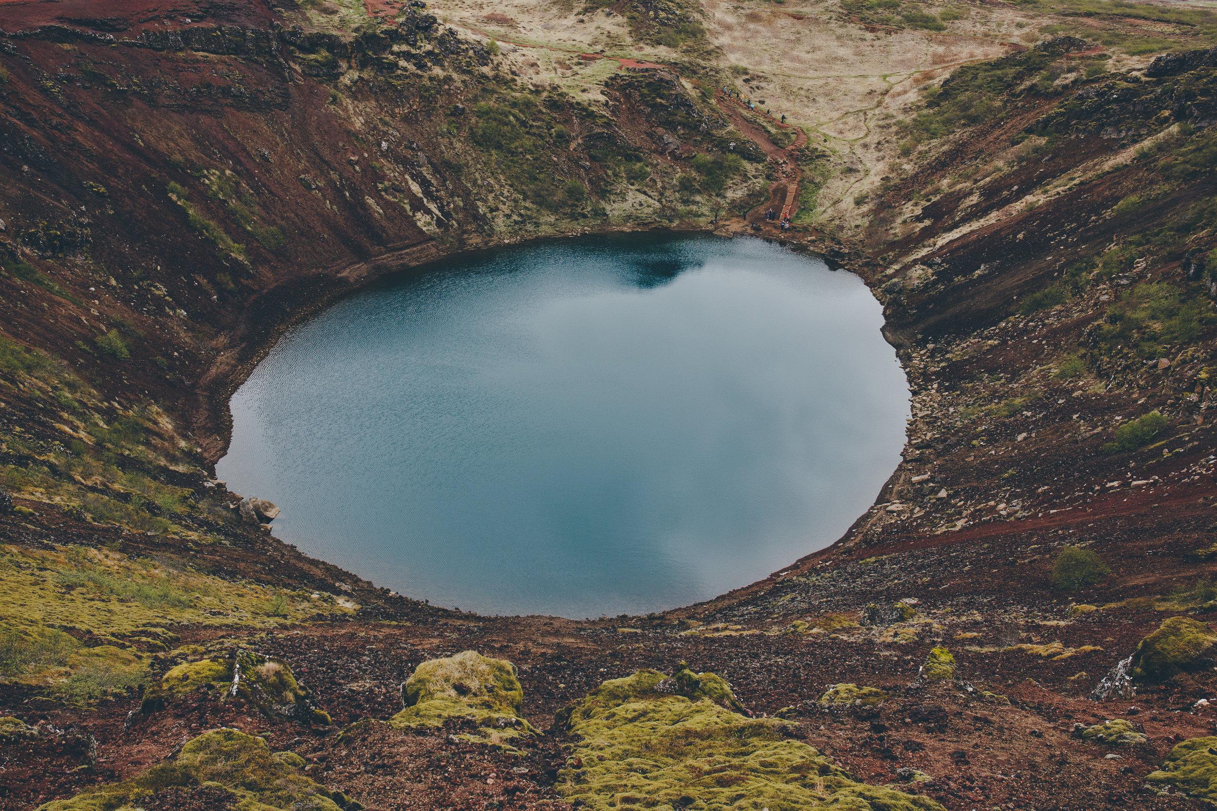 Crater lake, Kerid